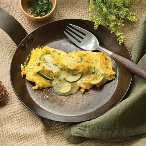 summer vegetables omelete