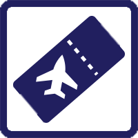 plane ticket icon