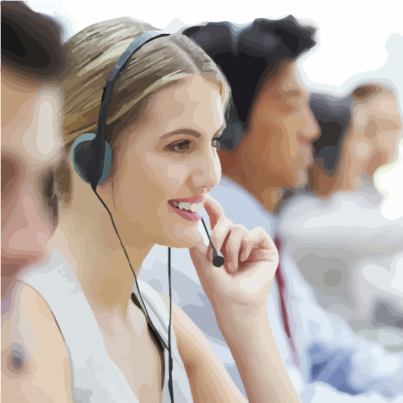 call center support line