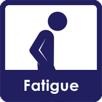 icon of person with fatigue